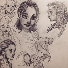 More #sketches from the #schoolismlive workshop