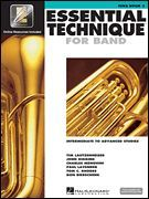 Essential Technique for Band - Intermediate to Advanced Studies (Softcover Media Online)