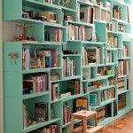 estante para livros com porta de correr 5