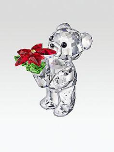 Swarovski Kris Bear 2012 Annual Edition Crystal Figure #Saks #givingsaks