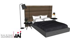 Modern Bedroom - 3D Warehouse