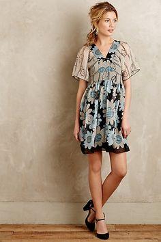 Miri Silk Kimono Dress #anthropologie #anthrofave