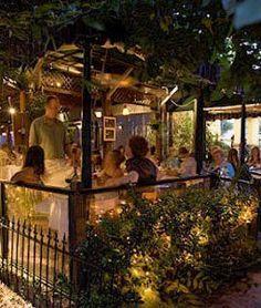 Romantic New Orleans restaurant Cafe Degas