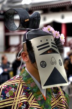 Japan, costume and mask
