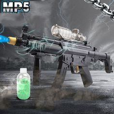MP5 Water Guns Electric Sniper Toy Guns Water Bullet The Cultivation Of Interest Outdoors Battle Toys For Children CS Game
