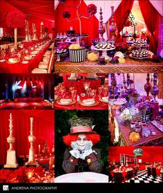 Alice in Wonderland party :)