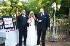 Walking Stephani down the aisle on her wedding day withe her other Dad, Steve. wed032 by chuckpousson, via Flickr