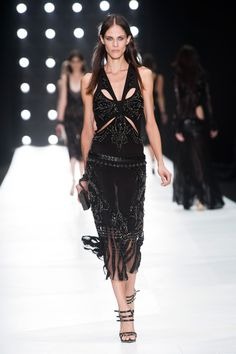 Roberto Cavalli looove this.... but could never wear it because even if I had the money I would still be too short for it!