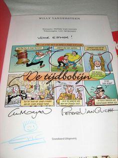Handtekeningen van Luc Morjeau & Peter van Gucht