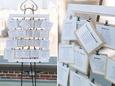 The seating cards listed tables with names like Droid and Rebel. | This Couple Just Had The Classiest Star Wars Wedding Ever