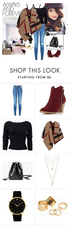 """Eleven #2"" by alien-official ❤ liked on Polyvore featuring Dorothy Perkins, Donna Karan, Burberry, Forever 21, Larsson & Jennings, Pieces, women's clothing, women, female and woman"