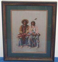 Detroit Photographic Co. William H. Jackson Original 53411 Pee Viggi and Squaw