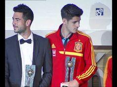 Video El Real Madrid equipo con más premiados en la gala de Fútbol Draft 2013
