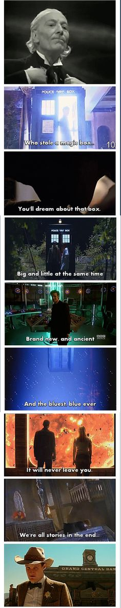 The XV Doctor remembers