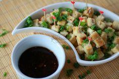 tofu com molho agridoce
