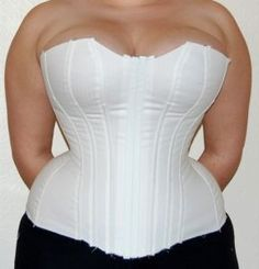 This was a really great article about Corseting for women with a large bust.