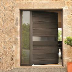 Single Door Design, Wooden Main Door Design, Modern Exterior Doors, Modern Door, Front Gate Design, Main Entrance Door, Contemporary Front Doors, Door Design Interior, Iron Doors