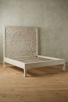 Beautiful bed with headboard! Lombok Bed - anthropologie.com