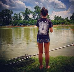 Big trucks country love on pinterest mud trucks and for Country girl fishing
