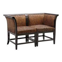 Sterling Industries 6071201 Vaughn Corner Chair Settee