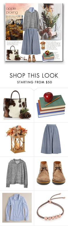 """""""Untitled #431"""" by craftsperson ❤ liked on Polyvore featuring Mark & Graham, GE, Vince, Gap, Gucci, J.Crew, Monica Vinader and applepicking"""