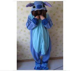 Hot! Piece Pajamas lilo and stitch Lovers Pyjamas Costumes Performance Clothing