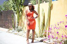Summer Outfit Inspiration: Midi Dress + Straw Hat http://www.arteresalynn.com/blog/summer-outfit-inspiration-midi-dress-straw-hat