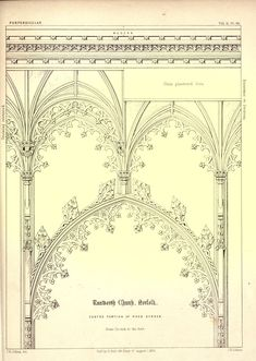 V. Scans from Colling's Gothic OrnamentsFrom the Image Archive | Todd van Hulzen Design