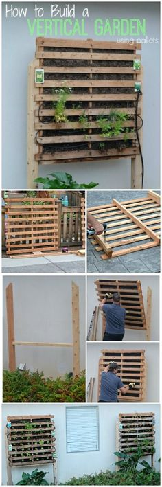 How to Build a Vertical Garden - a step by step tutorial