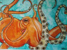 Octopus by ~alimarieASalicat on deviantART