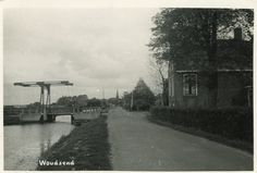 2 Ansichtkaarten van de Wegsloot (gedempt 1950)