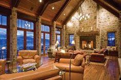 Log cabin-esque