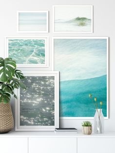 Ocean Photography - 5 Piece Gallery Wall Set #1 - Set of 5 prints