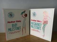 #Win the new Pregnancy and Baby Milestone Books from Mother & Baby