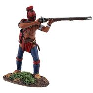 W. Britain - 16034 - Eastern Woodland Indian Standing Firing No.1