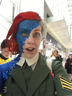 The Mystique Cosplay From NYCC Is Sheer Brilliance