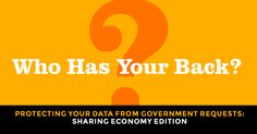 Who Has Your Back? User Privacy in the Gig Economy