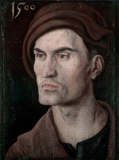 Portrait of a Young Man by Albrecht Dürer, 1500