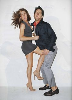Jen Aniston and Paul Rudd for GQ