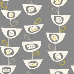 Buy John Lewis Seedheads Wallpaper, Storm Online at johnlewis.com