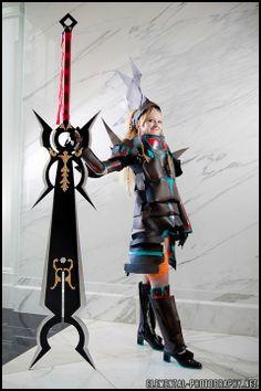 """Rikku (Dark Knight dressphere) from """"Final Fantasy X-2"""""""