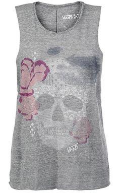 Vans Sketchy #Skull Top ~ Emp