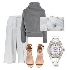"""""""Untitled #5"""" by muzacart on Polyvore featuring Whistles, Acne Studios, H&M, Charlotte Olympia and Rolex"""
