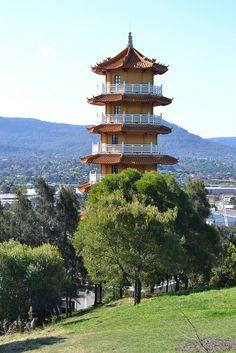 Pagoda at Nan Tien Temple by dorofofoto, via Flickr