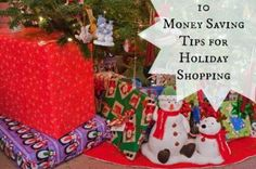 10 Money Saving Tips for Holiday Shopping