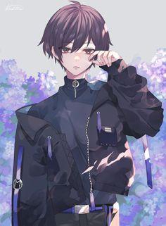 Dark Anime Guys, Cool Anime Guys, Handsome Anime Guys, Anime Oc, Chica Anime Manga, Cute Anime Boy, Fanarts Anime, Anime Angel, Anime Demon