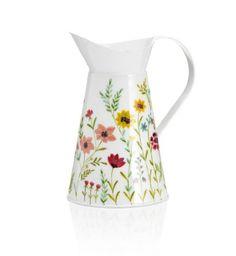 Beautiful floral print jug