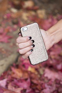 Embossed Italian Leather iPhone Case #ValenzHandmade