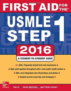 First Aid for the USMLE Step 1 2016 PDF