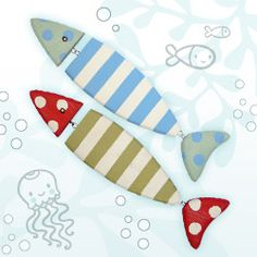 MollyMoo – crafts for kids and their parents Wooden Fish Craft Kits - for adults
